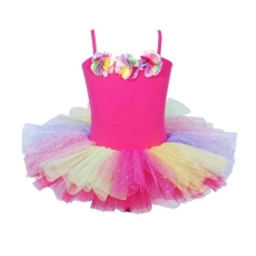 Ballerina bouquet tutu size 5/6 - hot pink