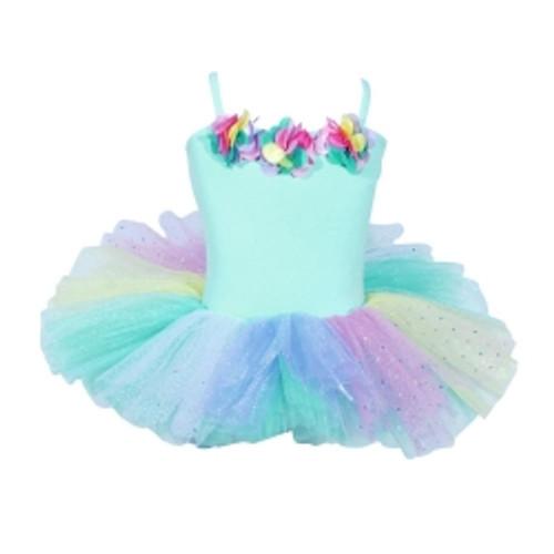Ballerina bouquet tutu size 3/4 - mint