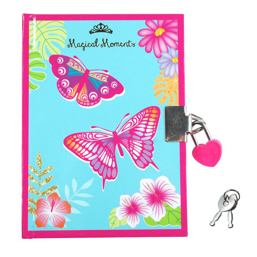 Butterfly fantasy diary - hot pink