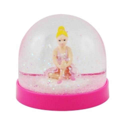 Ballerina acrylic snow globe