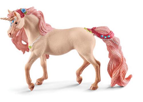 Schleich - decorated unicorn mare