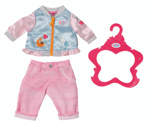 BABY BORN CASUALS - PINK PANTS