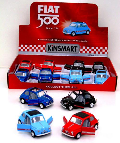 Fiat 500 Modern Classic Car 1:24