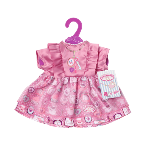 BABY ANNABELL DAY DRESS - PURPLE
