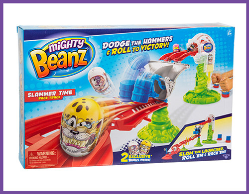 MIGHTY BEANZ S1 SLAMMER TIME RACETRACK