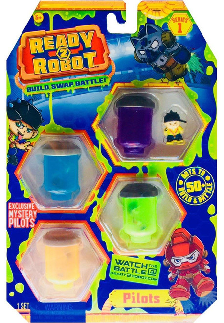 Ready To Robot Pilots 4pk - 004