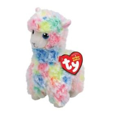 Beanie Babies Regular - Lola Multicolour Llama