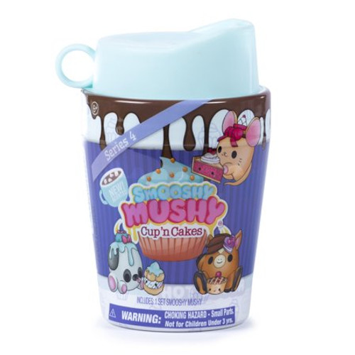 SMOOSHY MUSHY PET SERIES 4 CUP N CAKES