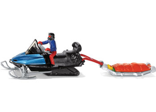 SIKU - SNOWMOBILE WITH RESCUE SLED