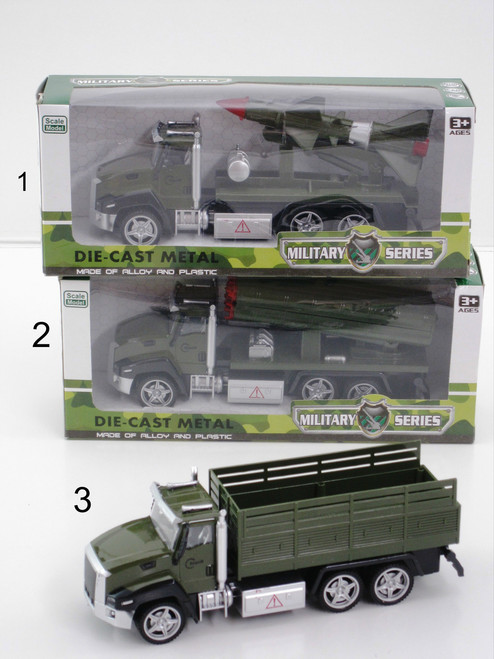 ARMY TRANSPORTER TRUCK SERIES - BAZOOKA