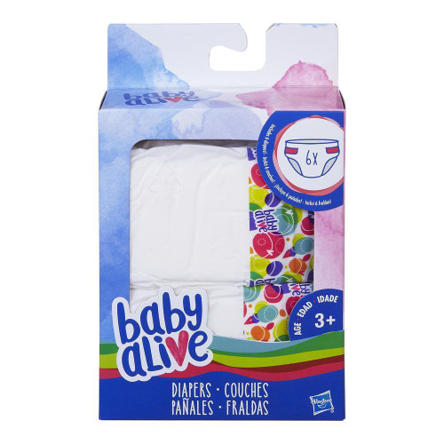 BABY ALIVE  DIAPERS REFILL