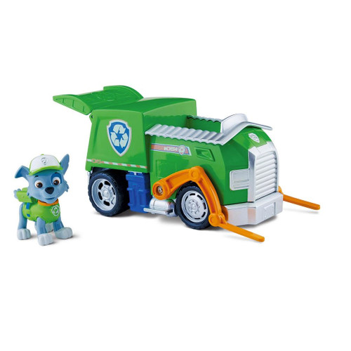 PAW PATROL VEHICLE - ROCKY TRANSFORMING RECYCLE TRUCK