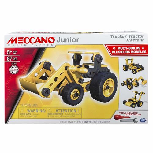 MECCANO JUNIOR TRACTOR - 4 MODELS