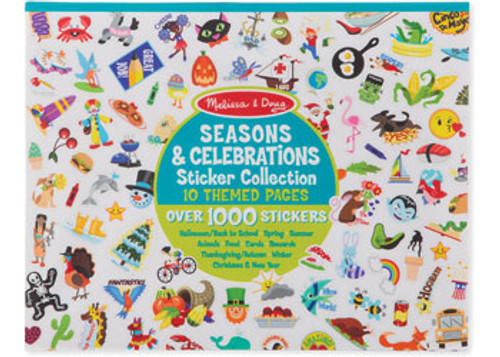 M&d sticker collection - seasons & holidays