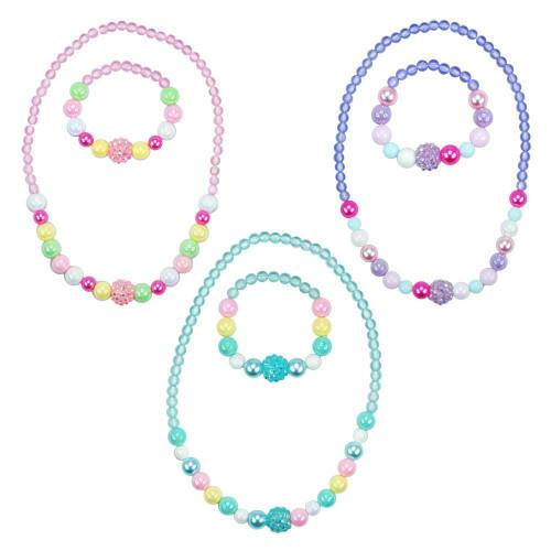 Pastel dream necklace & bracelet set