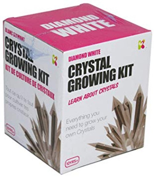 Crystal growing kit - diamond white