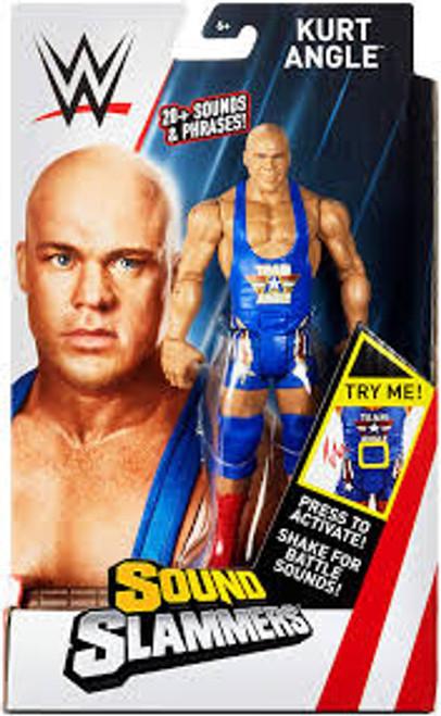 WWE SOUND SLAMMER FIGURE - KURT ANGLE