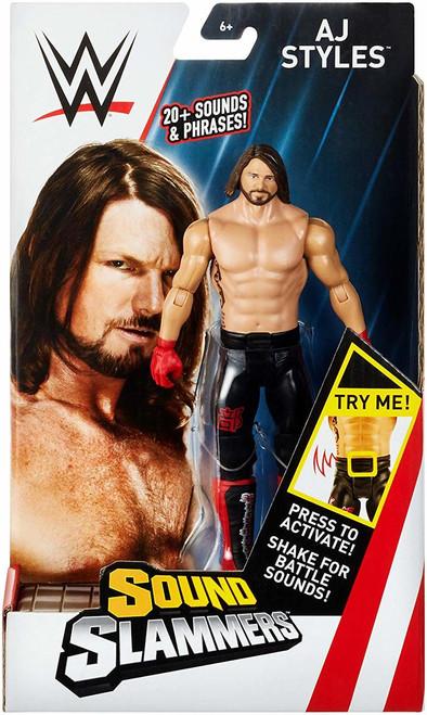 WWE SOUND SLAMMER FIGURE - AJ STYLES