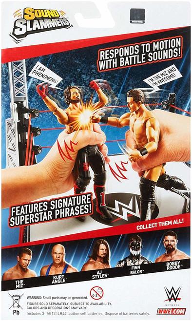 WWE SOUND SLAMMER FIGURE - THE MIZ