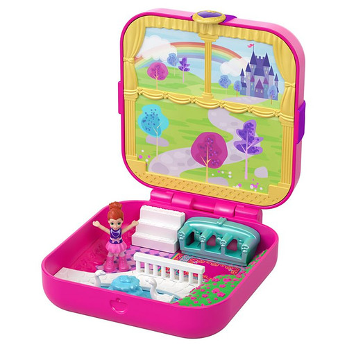 POLLY POCKET HIDDEN HIDEOUTS - LIL PRINCESS PAD