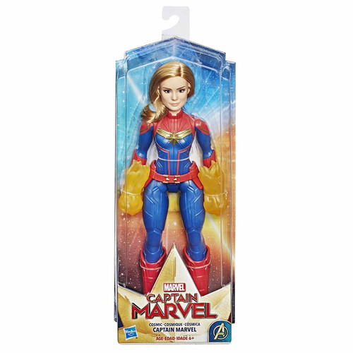 Cosmic captain marvel 12 inch
