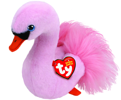 Beanie Babies Regular - Odette The Pink Swan