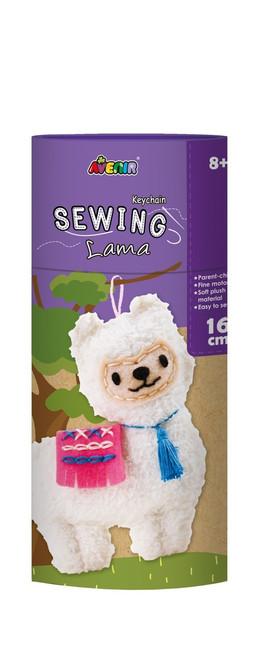 Avenir Sewing Key Chain - Llama