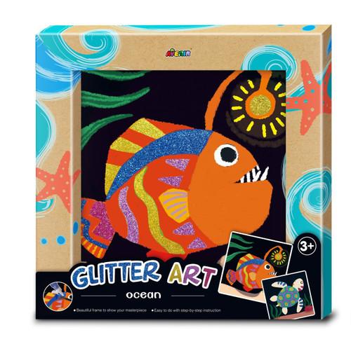 Avenir Glitter Art - Ocean