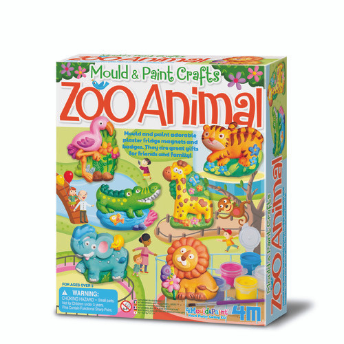 Mould and paint - zoo animal
