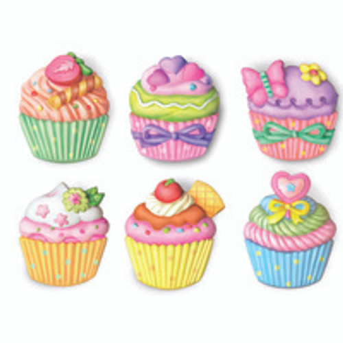 MOULD AND PAINT - CUP CAKES