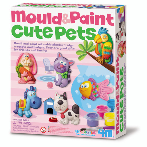 MOULD AND PAINT - CUTE PETS