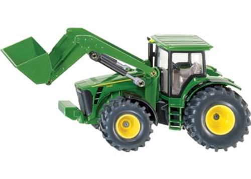 Siku  john deere with front loader  1:50 scale