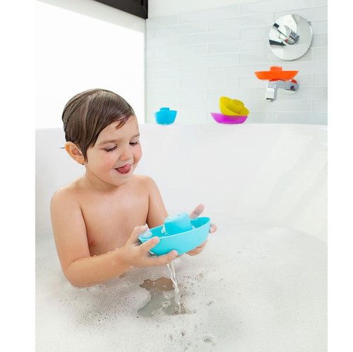 Boon - Fleet Stacking Boats Cups 5pce