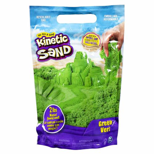 Kinetic Sand 2lb Colour Bag - Green