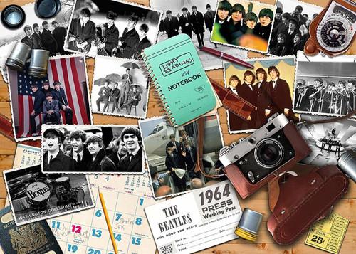 RAVENSBURGER - BEATLES 1964 A PHOTOGRAPHERS VIEW PUZZLE 1000