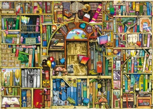 RAVENSBURGER - THE BIZARRE BOOKSHOP 2 PUZZLE 1000 PCE