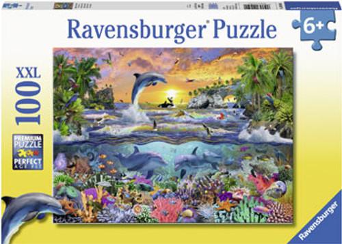 RAVENSBURGER - TROPICAL PARADISE PUZZLE 100 PCE