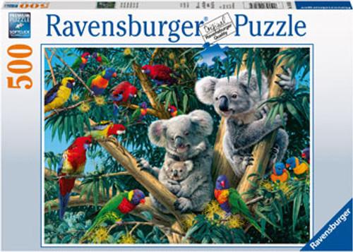 RAVENSBURGER - KOALAS IN A TREE PUZZLE 500 PCE