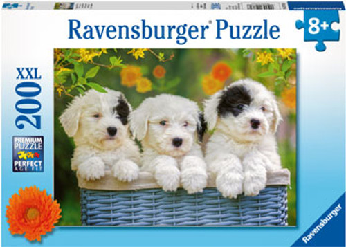 RAVENSBURGER - CUDDLY PUPPIES PUZZLE 200 PCE