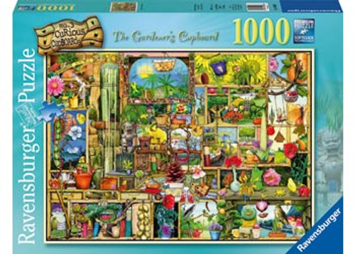 RAVENSBURGER - THE GARDENERS CUPBOARD PUZZLE 1000 PCE