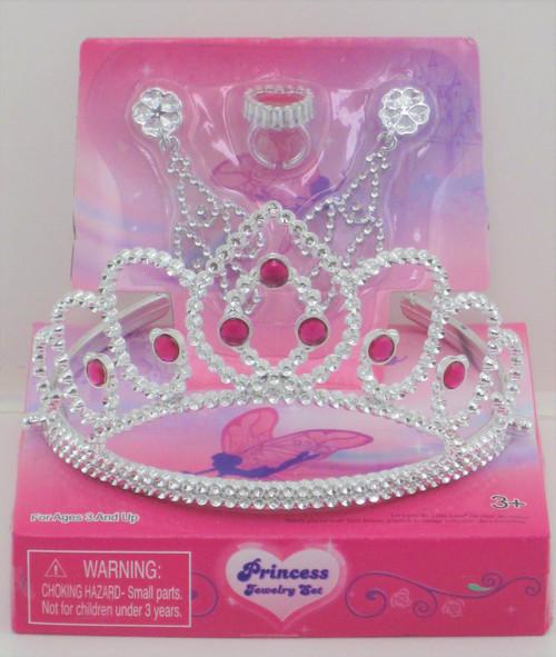 Princess Tiara And Jewellery Set