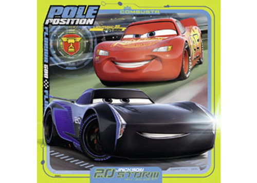 RAVENSBURGER - DISNEY CARS COLLECTION 3X49 PUZZLE