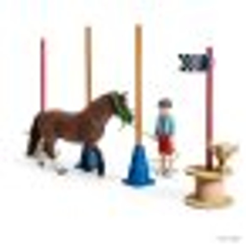 SCHLEICH - PONY AGILITY TRAINING