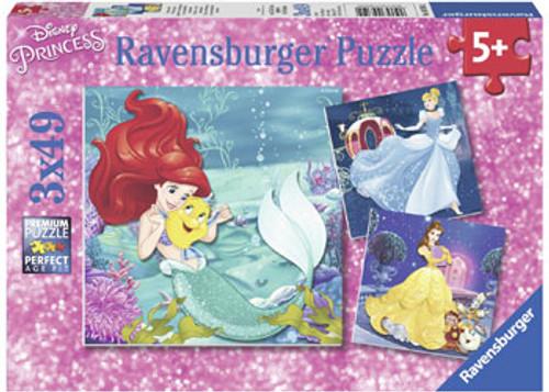 RAVENSBURGER - DISNEY PRINCESSES ADVENTURE 3X49