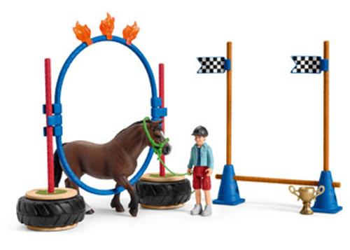 SCHLEICH - PONY AGILITY RACE