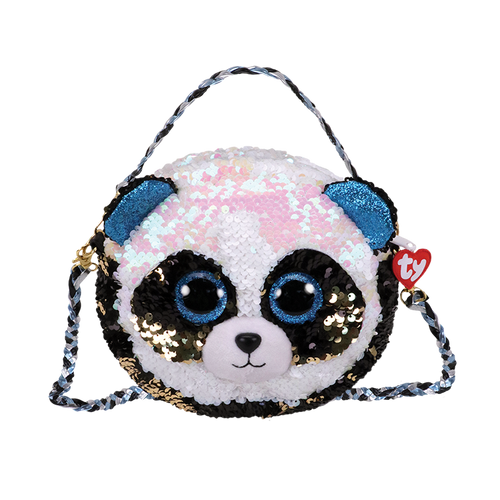Ty Gear - Sequins Bamboo Purse With Braided Strap