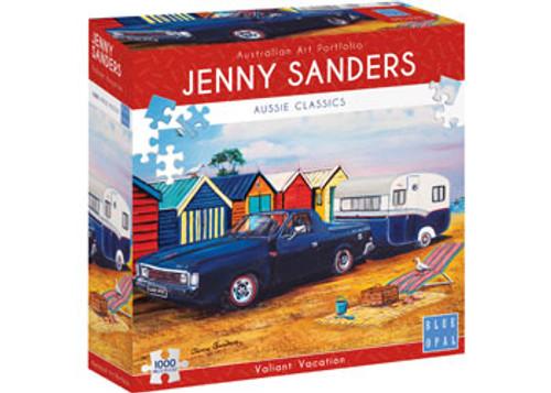 JENNY SANDERS - VALIANT VACATION 1000 PCE PUZZLE