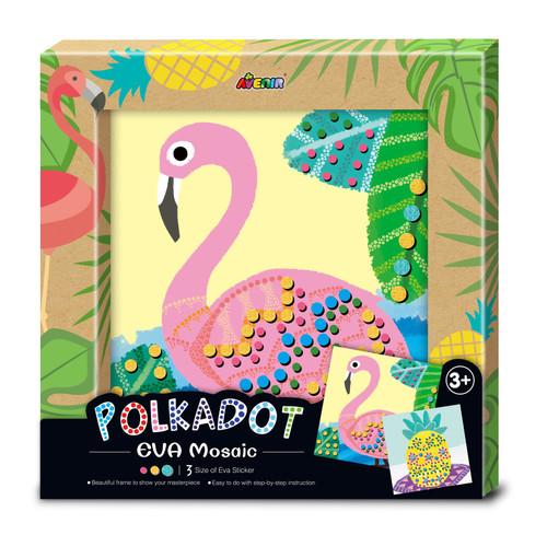 Avenir - Polkadot EVA Mosaic - Flamingo