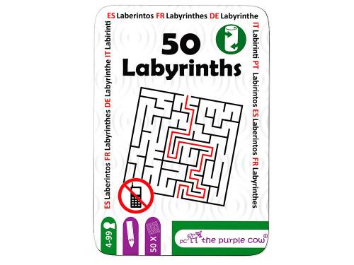 Tin of 50 labyrinths