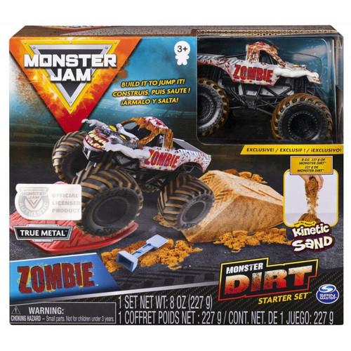 Monster Jam Kinetic Dirt Starter Kit - Zombie
